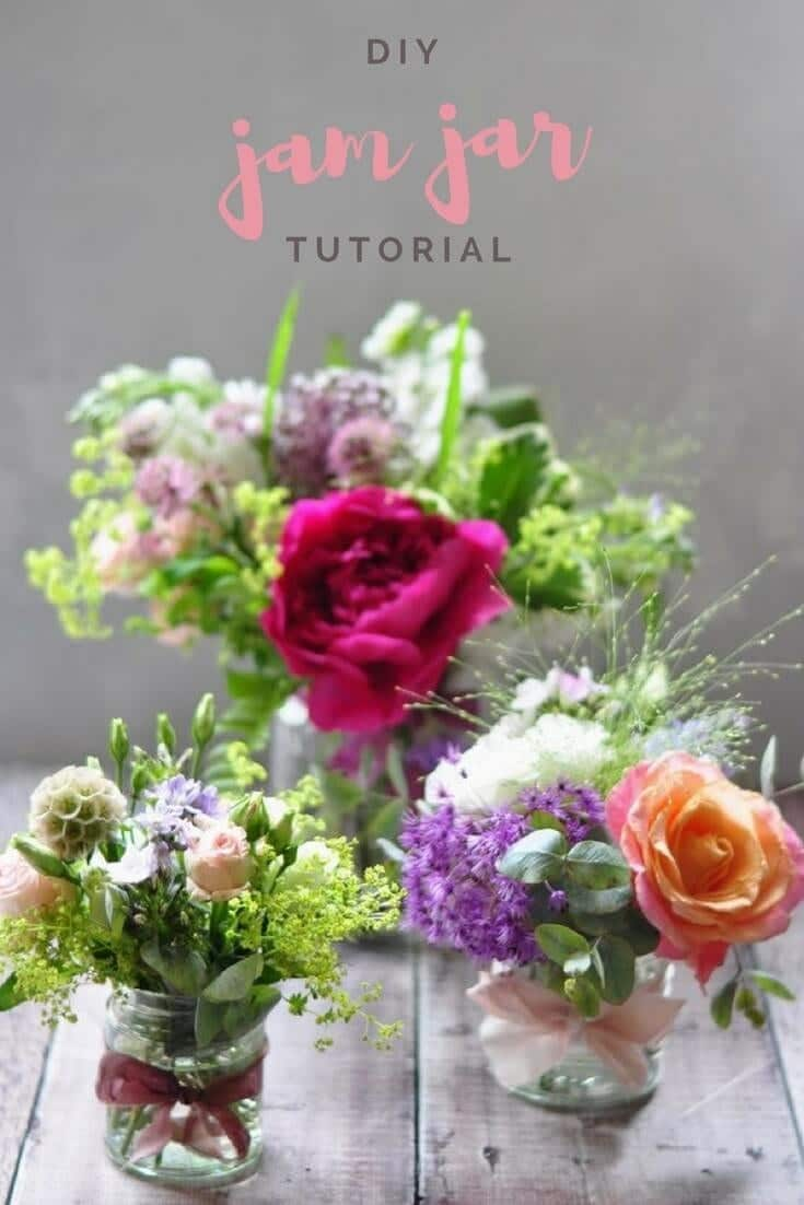 my ultimate jam jar flower tutorial. There is nothing better than decorating your home with little arrangements. They are my favourite thing to whip together when I have people coming over - versatile, simple to make (when you know how) AND perfect for using little bits from the garden. I'm sharing with you my tips for arranging a trio of jam jars with seasonal flowers. This is a must read post if you want a simple, floristry DIY that always looks amazing. Head over to the blog to read all about it www.greenparlour.com/blog