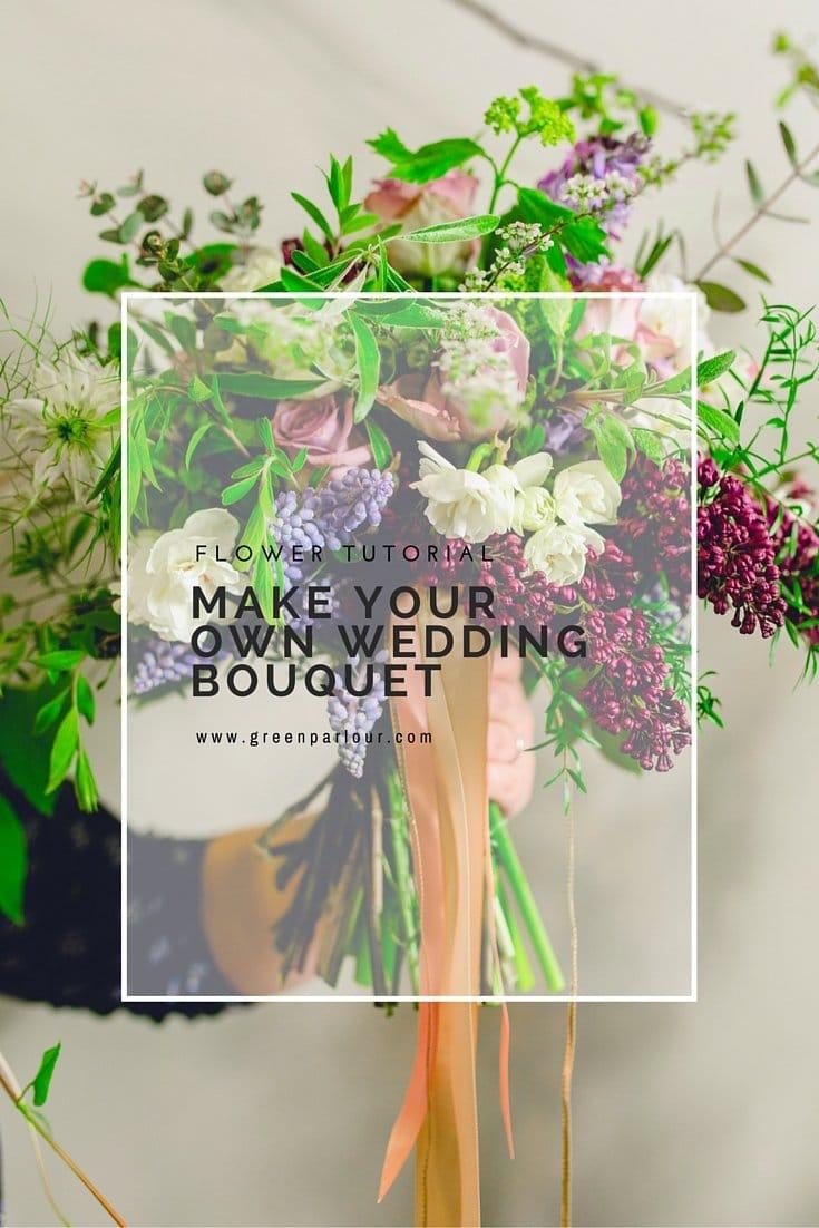DIY flower bouquet tutorial