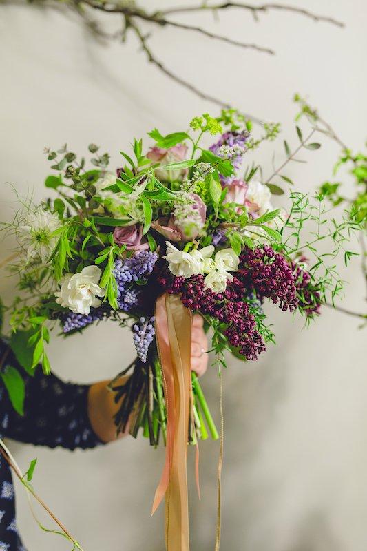 DIY wedding bouquet tutorial