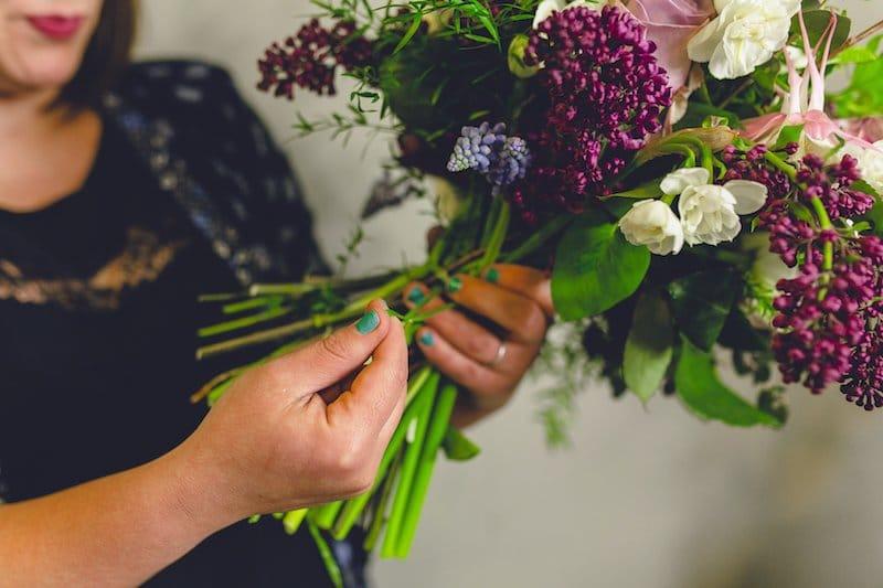 DIY wedding flowers tutorial