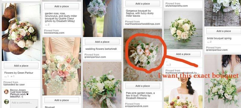 Pinterest bridal bouquet