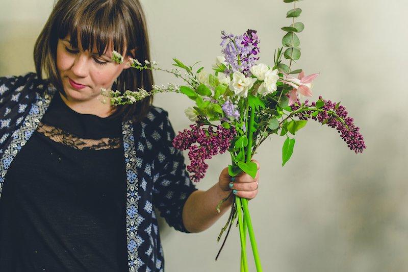 Green Parlour florist reading flower courses