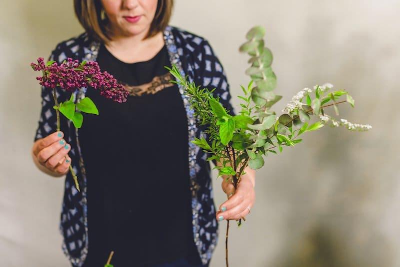 Green Parlour florist flower courses Berkshire