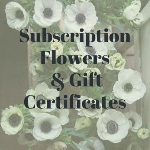 Subscriptions and Gift Certificates